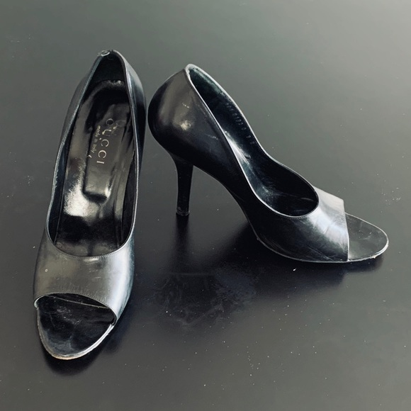 Gucci Shoes   Vintage Stiletto Heels In
